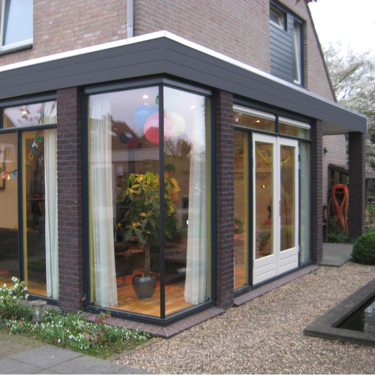 Uitbreiding udenhout 1 studio slotboom - Uitbreiding huis glas ...
