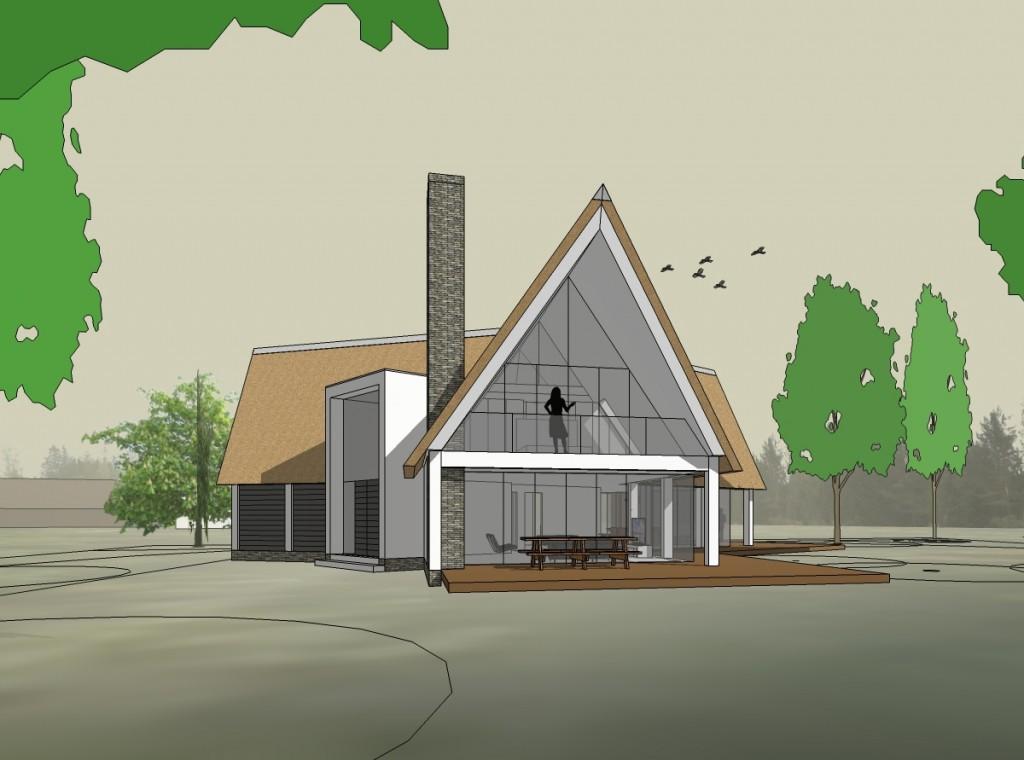Nieuwbouw boshuis Waalre